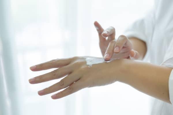moisturize multiple times